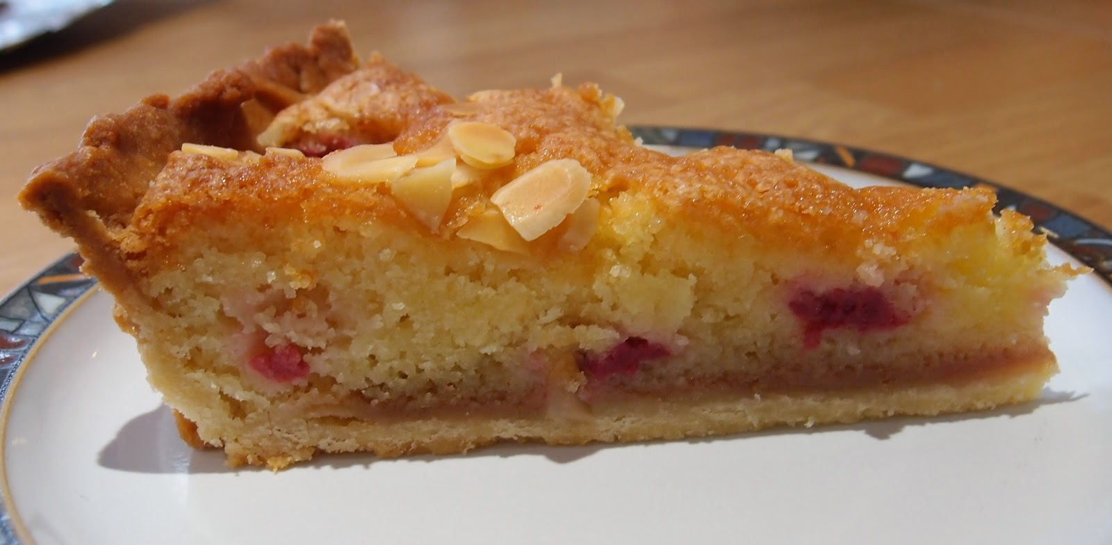 The Caked Crusader: Raspberry bakewell tart