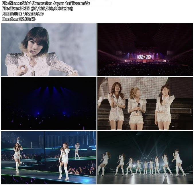 [Full Concert] SNSD   Japan First Tour Girls Generation [BluRay 1080i + 720p]