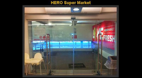 Auto-Door at Hero Supermarket