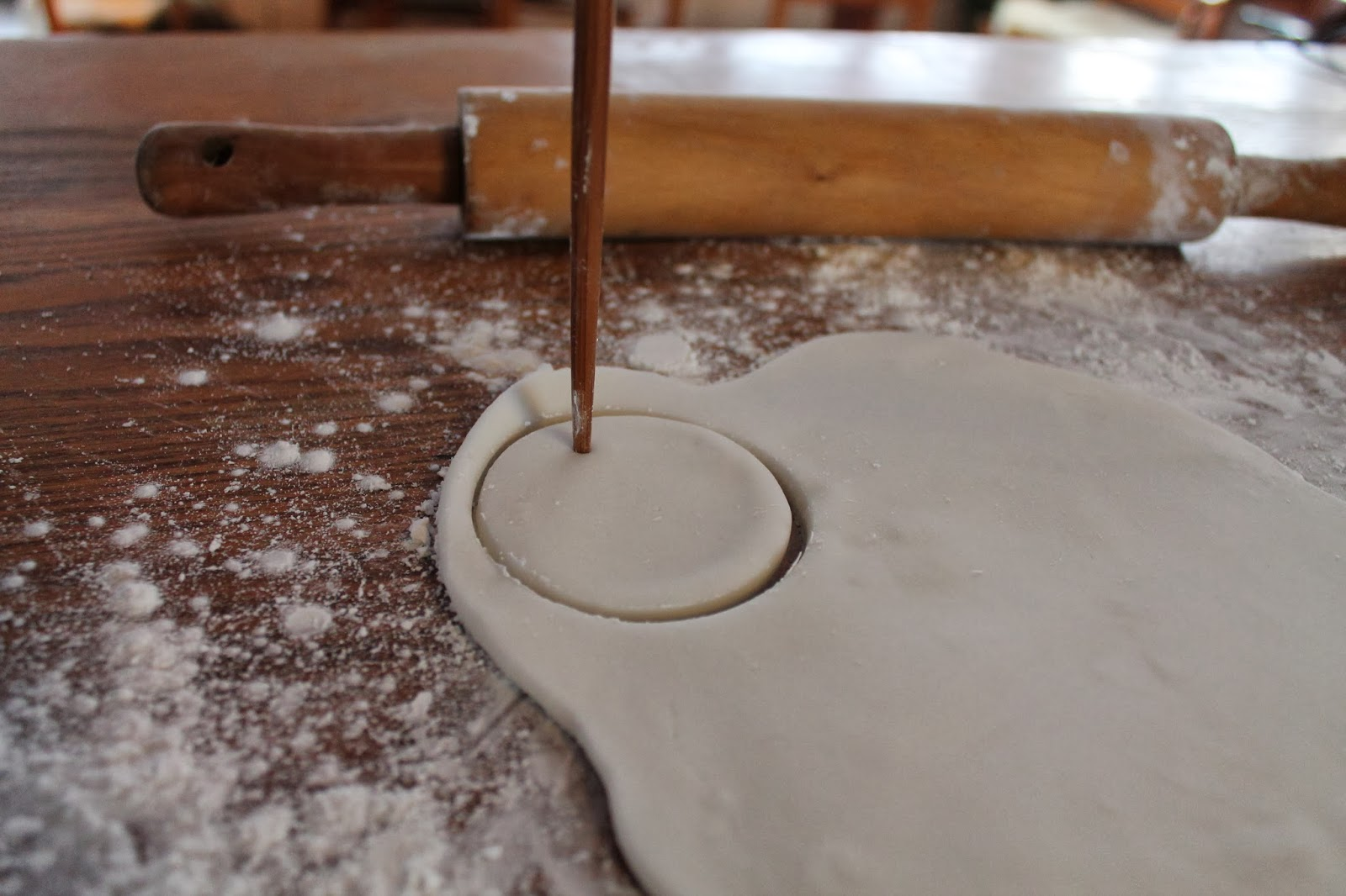 Rolling pin ornament - Bake At 100 Degrees C For An Hour