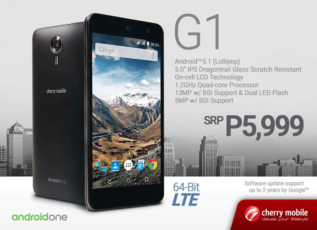 Camera New Android Phones With Price cherry mobile g1 android one smartphone specs price philippines philippines