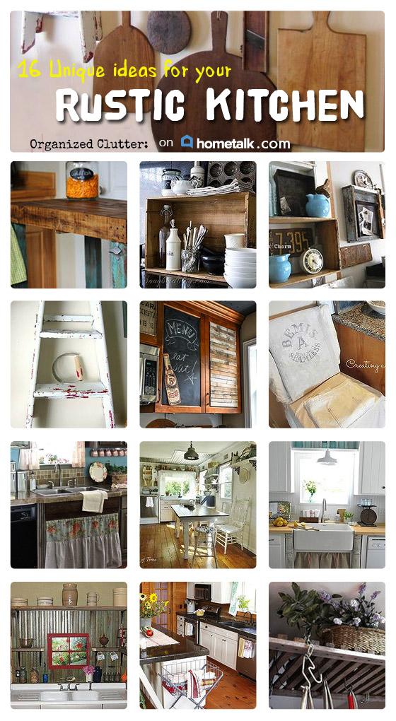 Hometalk Rustic Kitchen Ideas Clipboard