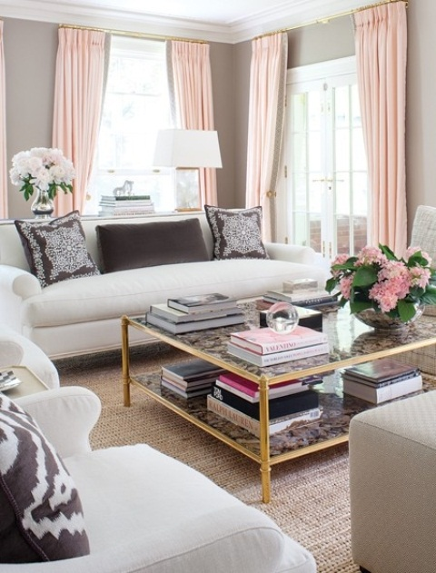 Modern Furniture 2013 Stylish And Feminine Living Rooms