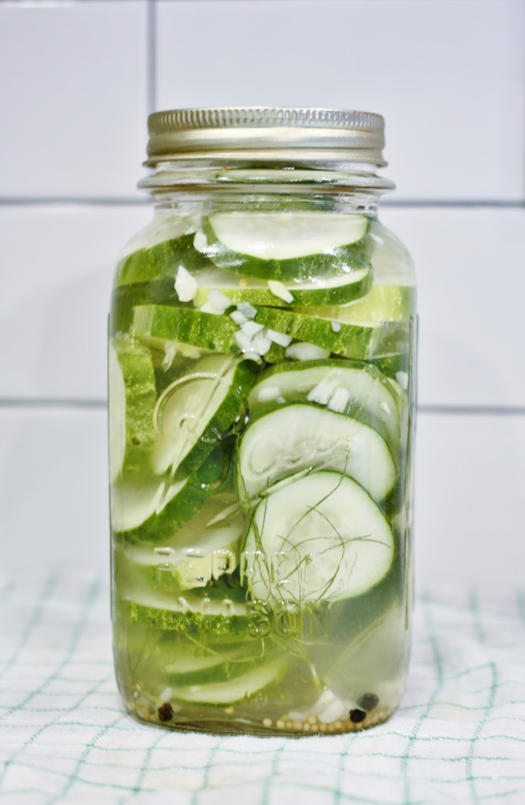 Shannan Martin Writes: 10 Minute Refrigerator Dill Pickles