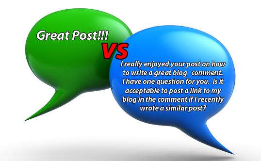 komentar di dalam blog mempengaruhi SEO