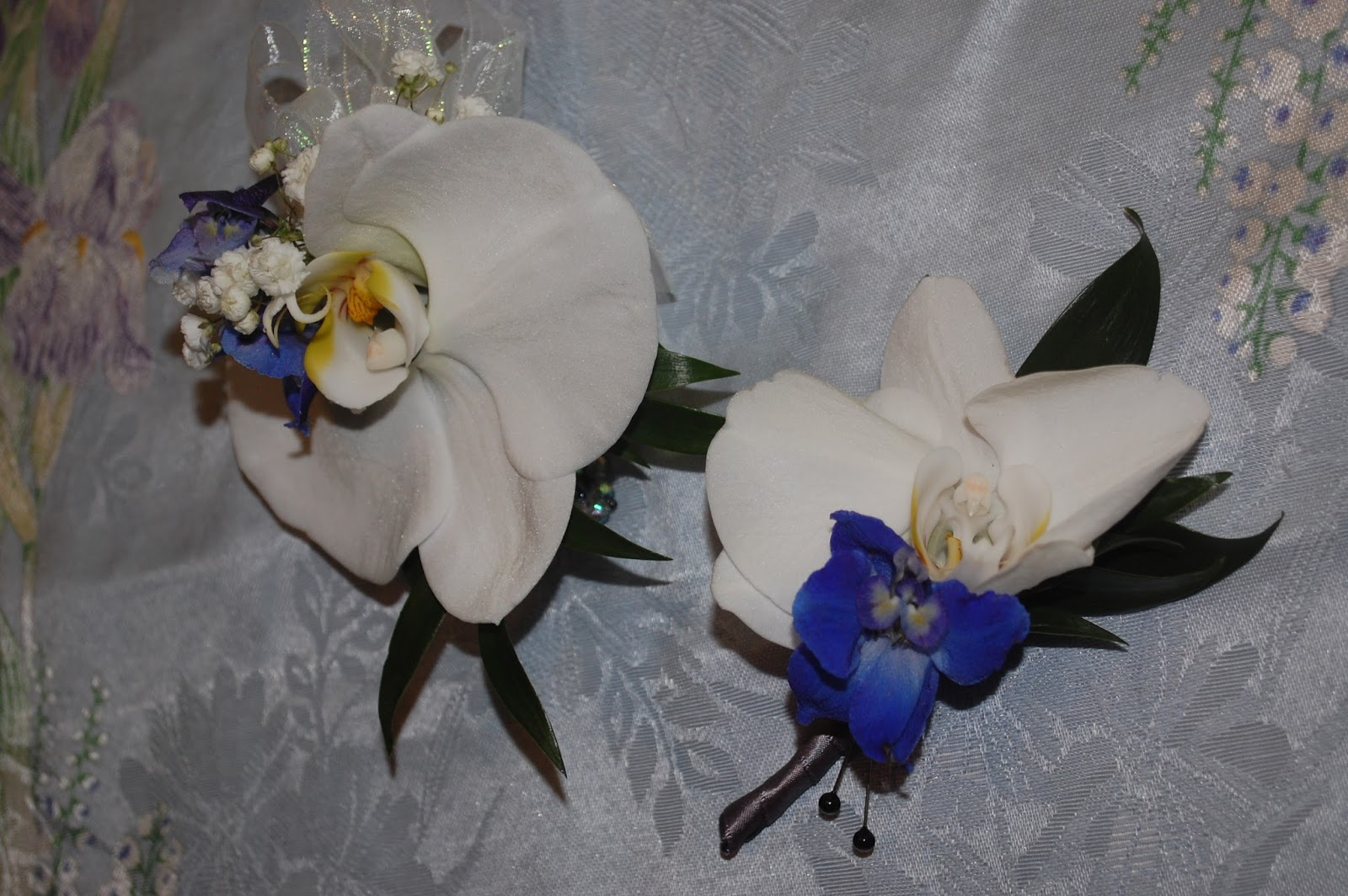 Sprouts Prom Flowers Orchid Wristlet Corsage And Boutonnire