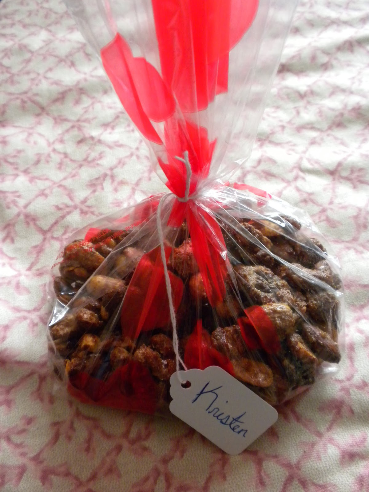 Sweet and Spicy Nuts given as a Hostess Gift by Substance of Living