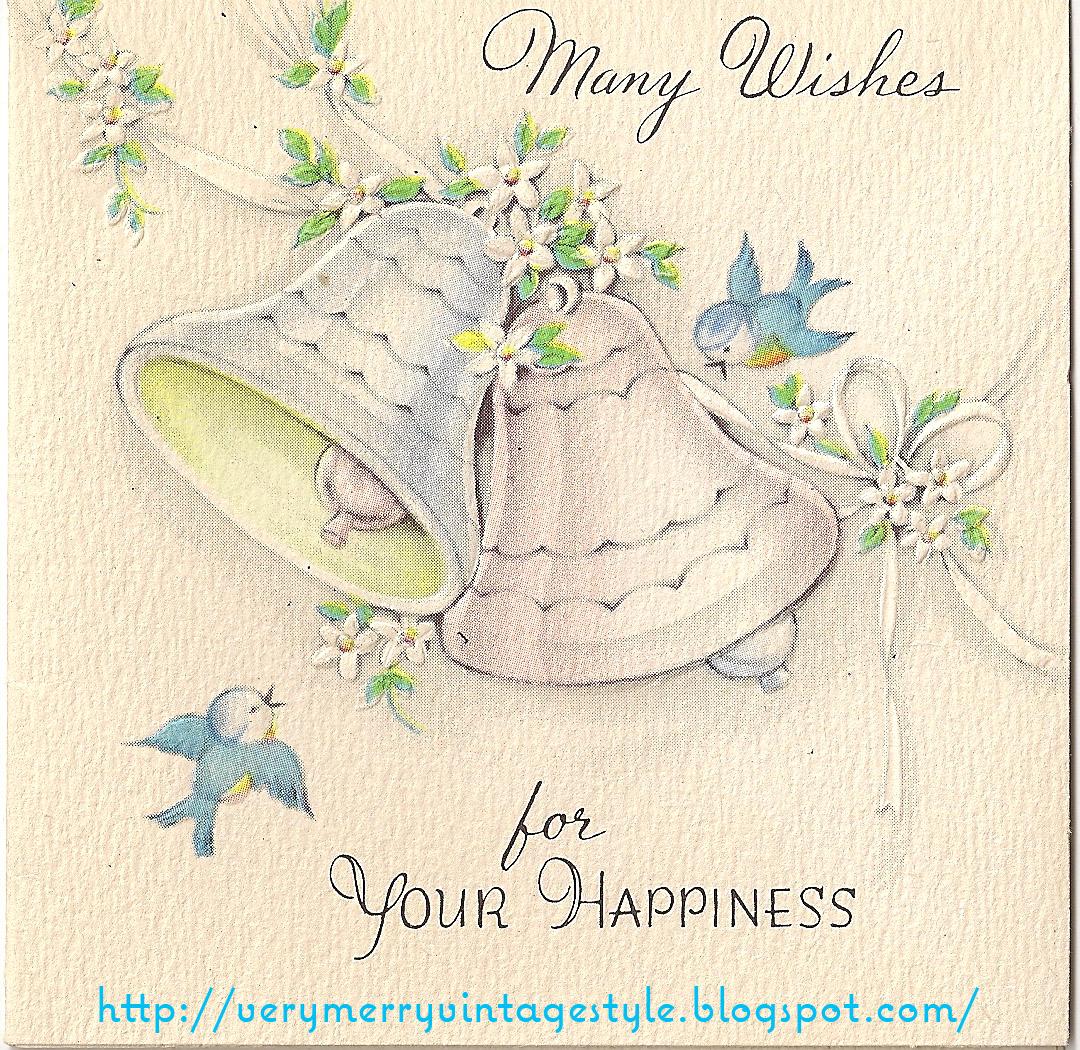 Винтажные открытки для свадьбы 561