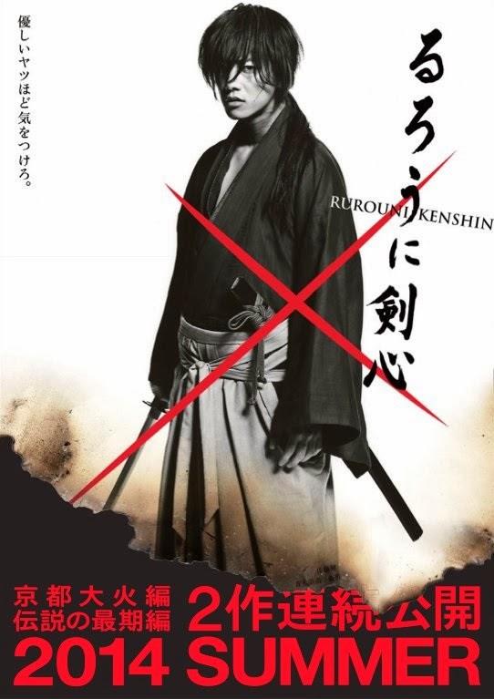 [Info Terhangat] Dua Film Sekuel Live-Action 'Rurouni Kenshin'!