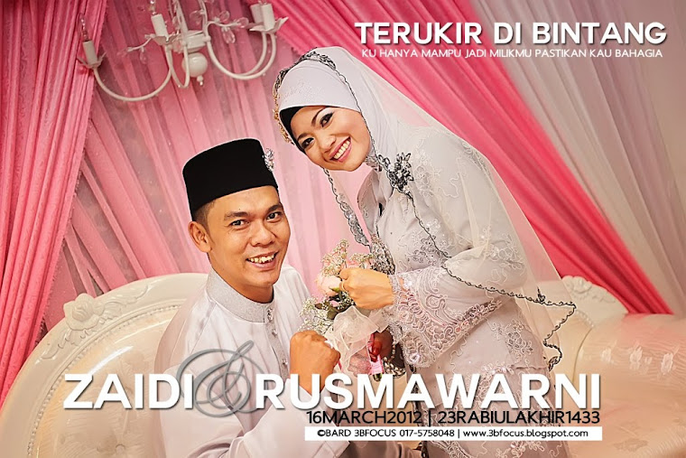 ZAIDI+RUSMAWARNI | 16 MARCH 2012