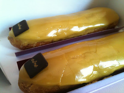 Where to find the best coffee eclair in Paris ? Lenotre
