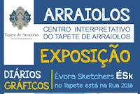 """ARRAIOLOS: EXPOSIÇÃO """"DIÁRIOS GRÁFICOS"""""""
