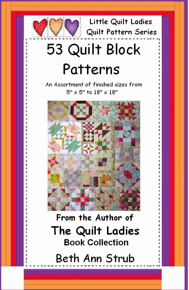 Fifty three Quilt Pattern from The Quilt Ladies Store