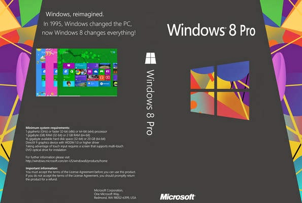 Windows 8 Pro Untouched ISO MicroSoft Single Link