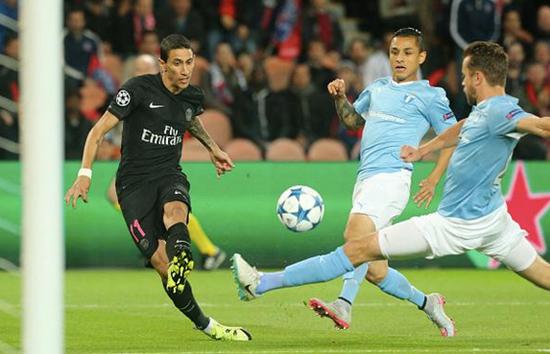 PSG 2 x 0 Malmo - Grupo A / Champions League 2015/16