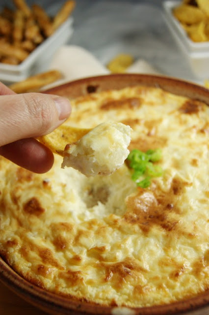 Hot Onion Souffle Dip