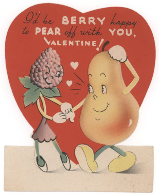 36 ridiculously adorable vintage valentines day cards from the 1940s - Vintage Valentines Day