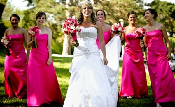 vestidos damas de honra