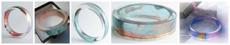 Resin Bangles by Handmade In Keswick