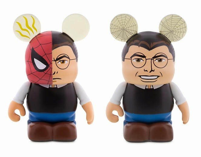 Peter Parker Marvel Vinylmation Eachez Vinyl Figures by Disney