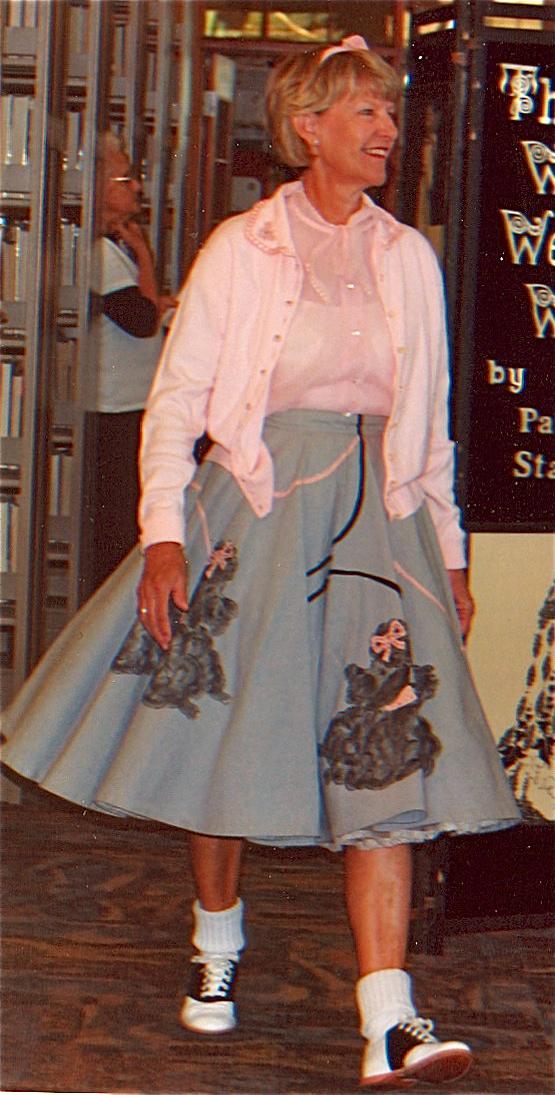WayWeWore Vintage 1950s Poodle Skirt