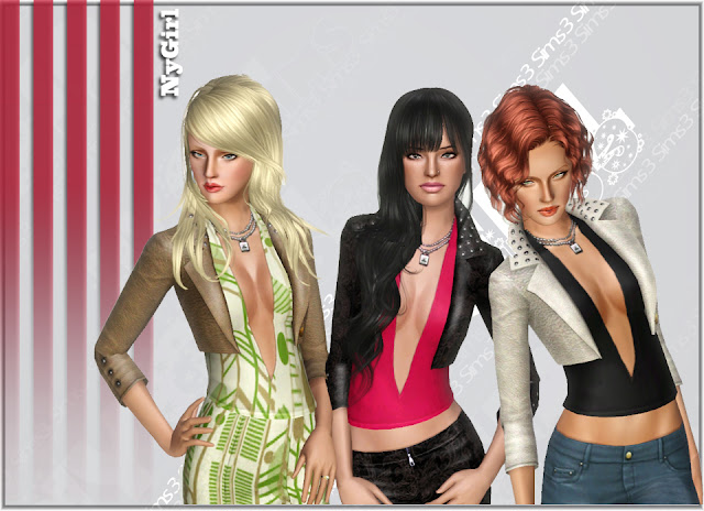 Studded Leather Jacket (EA Remake) by NyGirl Jacket1