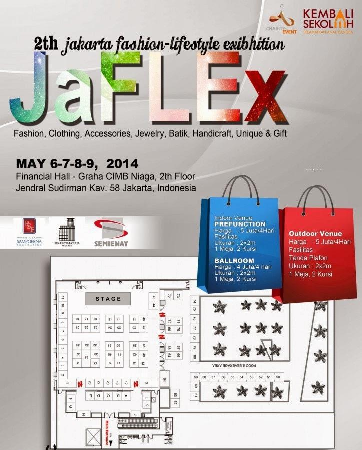 Jakarta Fashion Lifestyle Exibhition JAFLEX 2