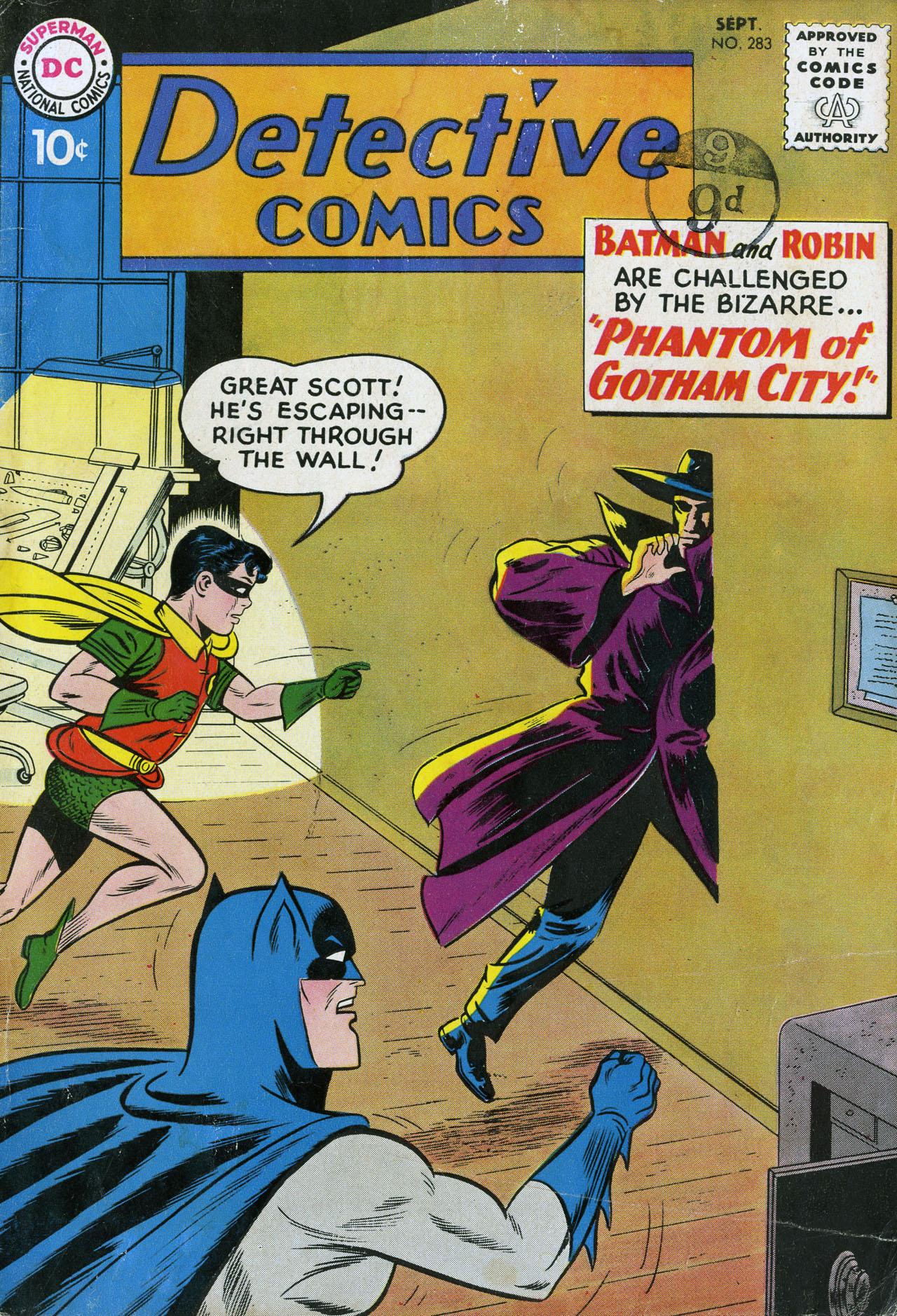 Detective Comics (1937) 283 Page 1
