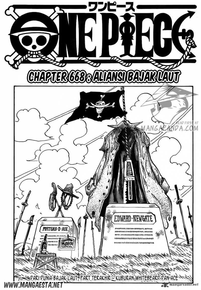 001 One Piece 668   Sekutu Bajak Laut