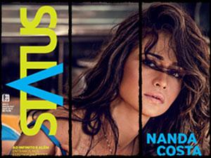 Fotos de Nanda Costa na Revista Status