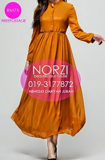 NBH0244 DARIYAH JUBAH (NURSING FRIENDLY)