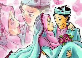 kartun muslimah cantik