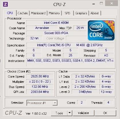 Software CPU-Z Untuk Informasi dan Monitoring Hardware