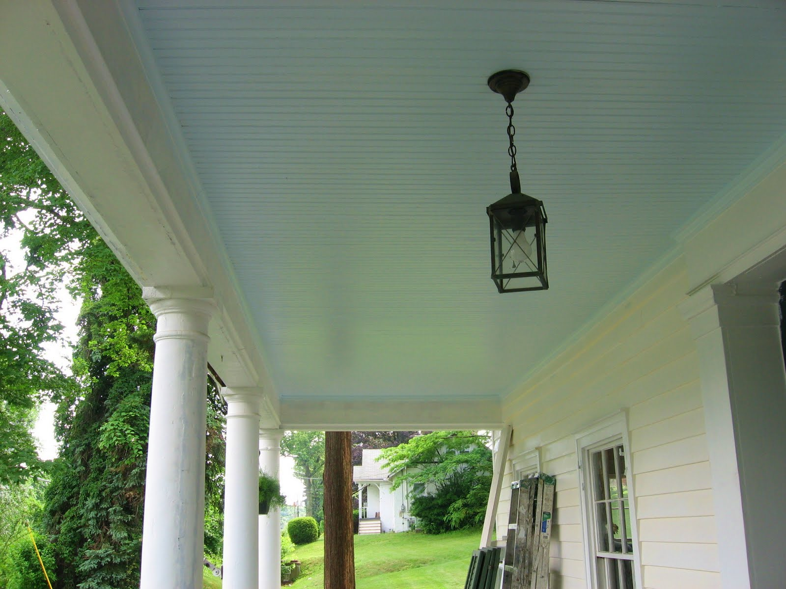 Benjamin Moore Blue Porch Ceiling Paint