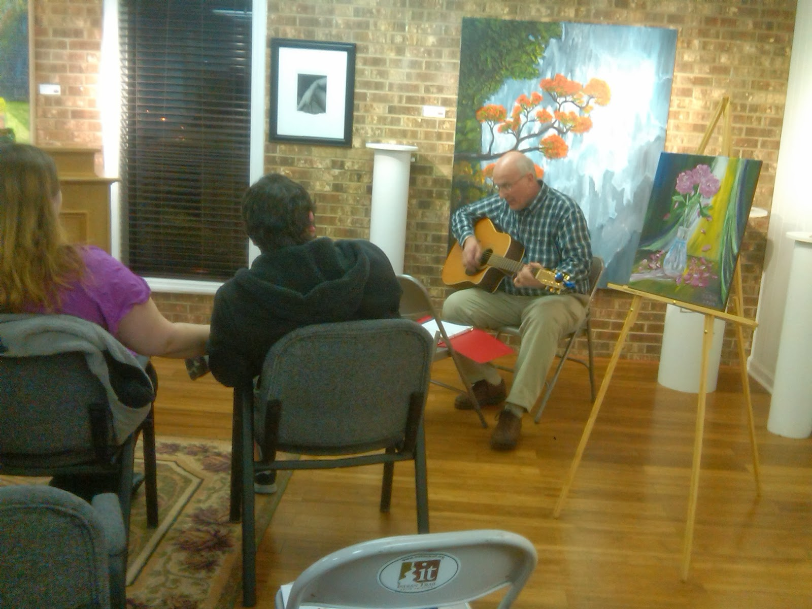 poetry reading, dwight roth, art, poetry