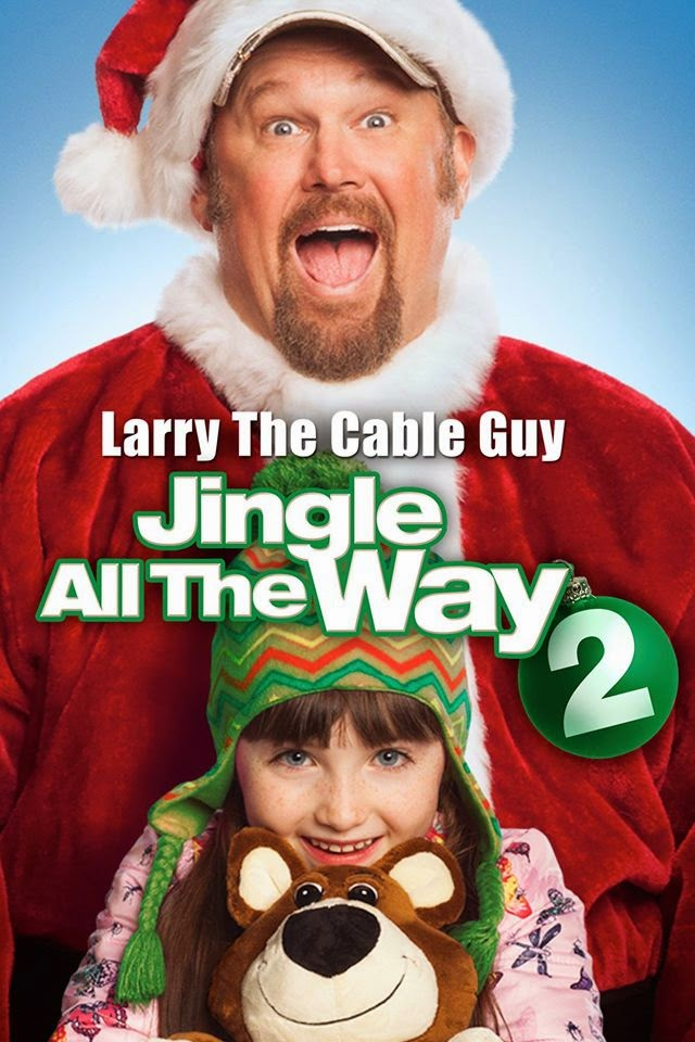 christmas movie giveaway jingle all the way 2 starring larry the cable guy dvd or blu ray - Arnold Christmas Movie