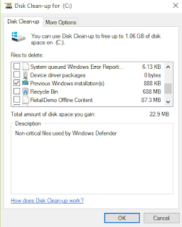 Cara Mudah Menghapus Folder Windows old