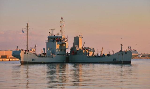 Di laut walaupun dimiliki oleh tentera laut jerman kapal kapal ini
