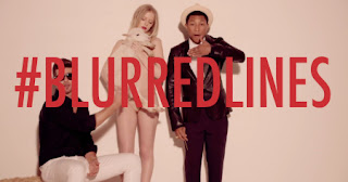 Blurred Lines - Robin Thicke Featuring T.I. + Pharrell