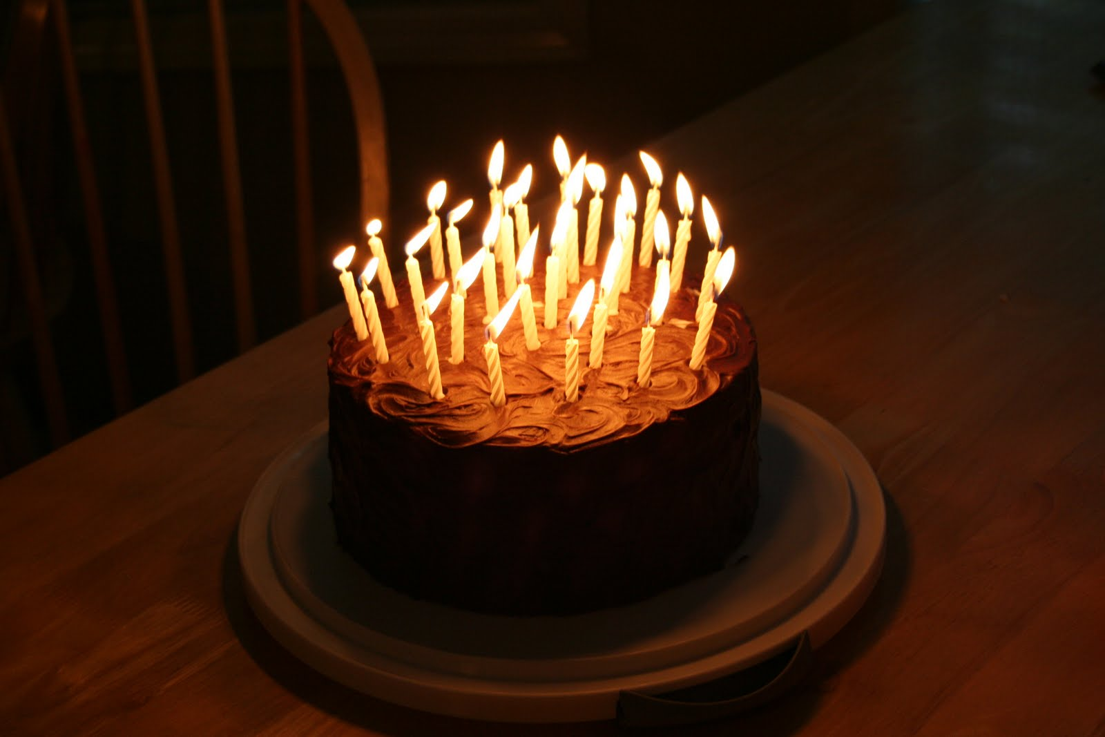 Say It Sweetly 30th Birthday Cake