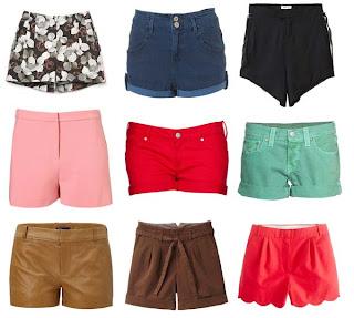 moda verão 2013 shorts