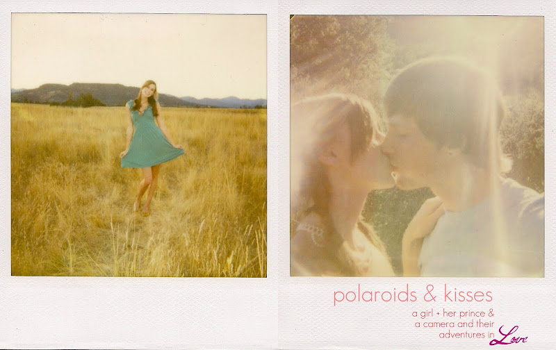 polaroids and kisses