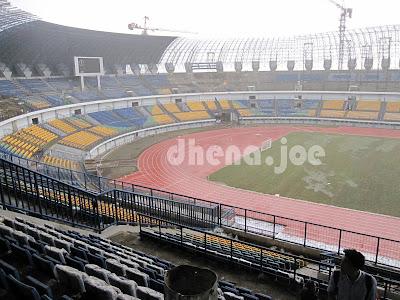 Stadion Gedebage Februari 2013