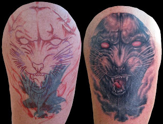 Black Panther Tattoo Design Photo Gallery - Black Panther Tattoo Ideas