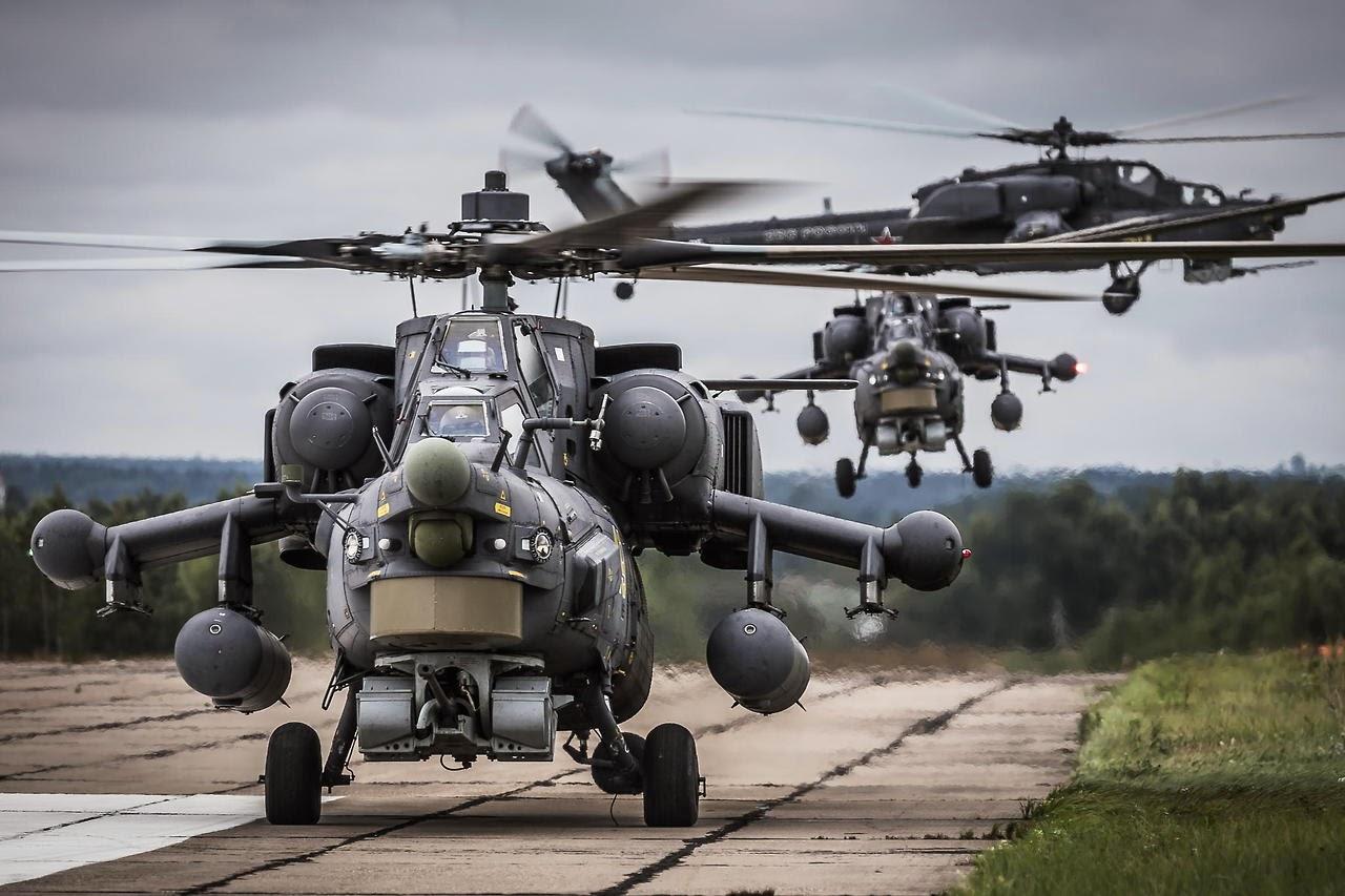 Helicopteros del Ejercito Mi-28