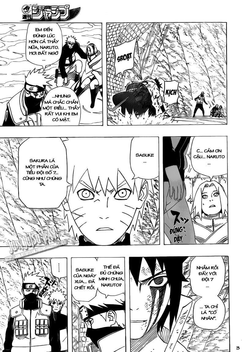 Naruto chap 485 Trang 3 - Mangak.info
