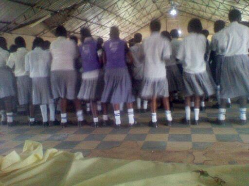 STUDENTS IN THE SCHOOL  WE WENT