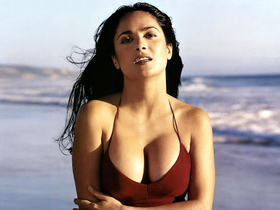Hot Celebrity Salma Hayek