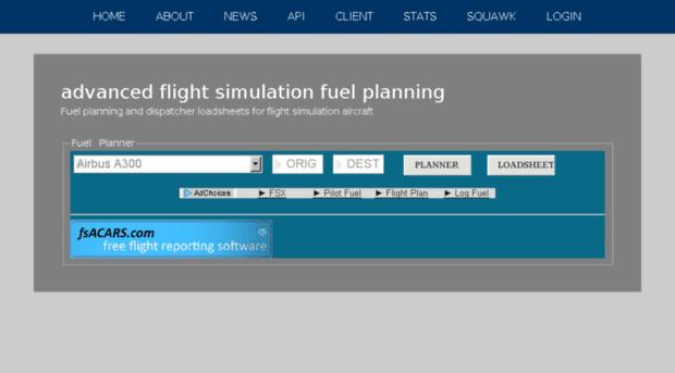 Fuel Planner