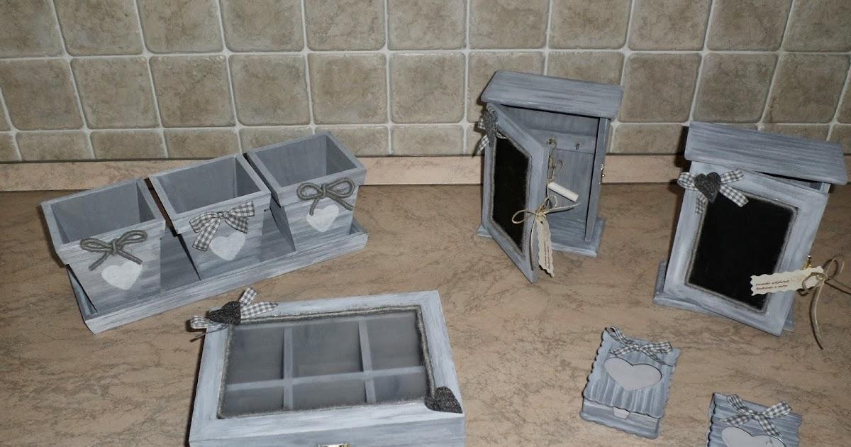 ... by Francy : per la oggettistica per la casa in stile shabby chic